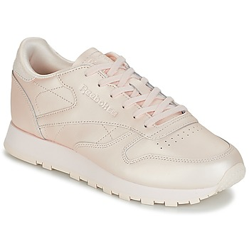 Sapatos Mulher Sapatilhas Reebok Classic CLASSIC LEATHER Rosa