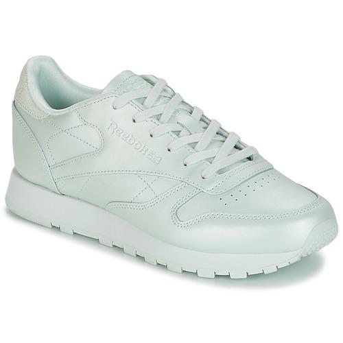 Sapatos Mulher Sapatilhas Reebok Classic CLASSIC LEATHER Verde