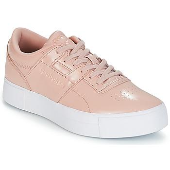 Sapatos Mulher Sapatilhas Reebok Classic WORKOUT LO FVS Rosa