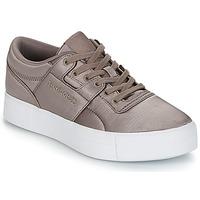 Sapatos Mulher Sapatilhas Reebok Classic WORKOUT LO FVS TXT Cinza
