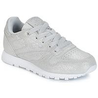 Sapatos Rapariga Sapatilhas Reebok Classic CLASSIC LEATHER C Prata