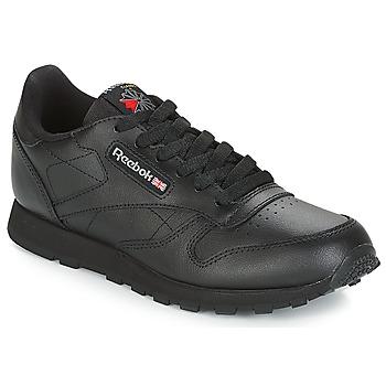 Sapatos Criança Sapatilhas Reebok Classic CLASSIC LEATHER J Preto