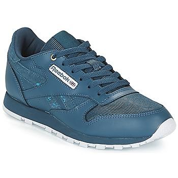 Sapatos Criança Sapatilhas Reebok Classic CLASSIC LEATHER J Marinho