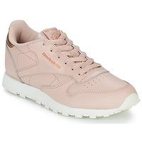 Sapatos Rapariga Sapatilhas Reebok Classic CLASSIC LEATHER J Rosa
