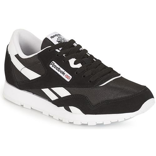 Sapatos Criança Sapatilhas Reebok Classic CLASSIC NYLON J Preto / Branco