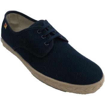 Sapatos Homem Sapatilhas Made In Spain 1940 Modelo de esparto de cânhamo de cordão d azul