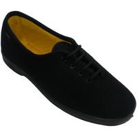 Sapatos Mulher Sapatilhas Doctor Cutillas Sapato laçado mulher senior pessoa  em Preto negro