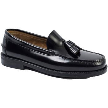 Sapatos Homem Mocassins Edward's Soleil de borracha de borracha Castellan negro
