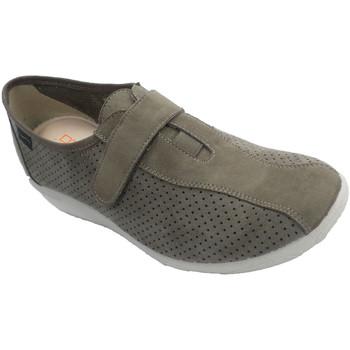 Sapatos Mulher Slip on Doctor Cutillas Sapatos femininos que simulam sapatos de beige