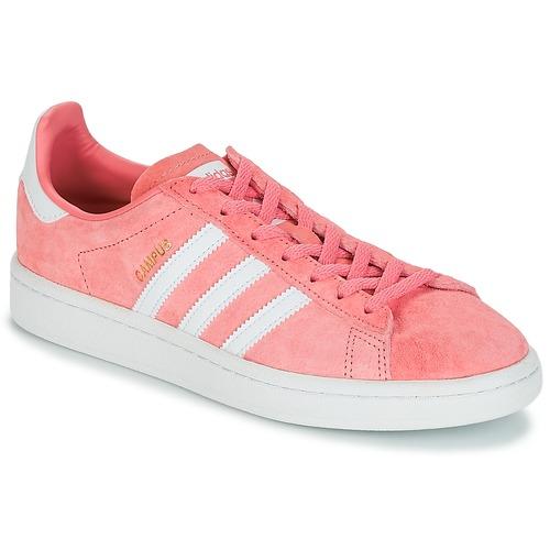 Sapatos Mulher Sapatilhas adidas Originals CAMPUS W Rosa