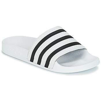 Sapatos chinelos adidas Originals ADILETTE Branco / Preto