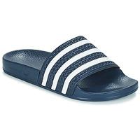 Sapatos chinelos adidas Originals ADILETTE Marinho / Branco