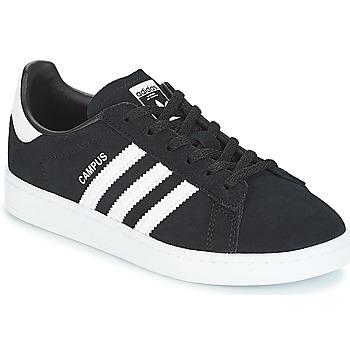Sapatos Criança Sapatilhas adidas Originals CAMPUS C Preto