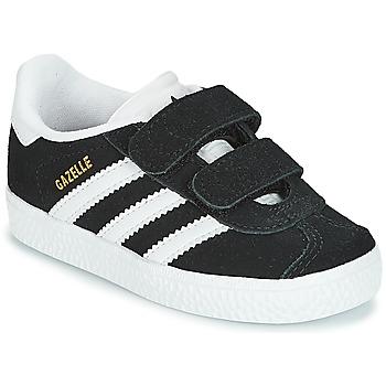 Sapatos Criança Sapatilhas adidas Originals GAZELLE CF I Preto