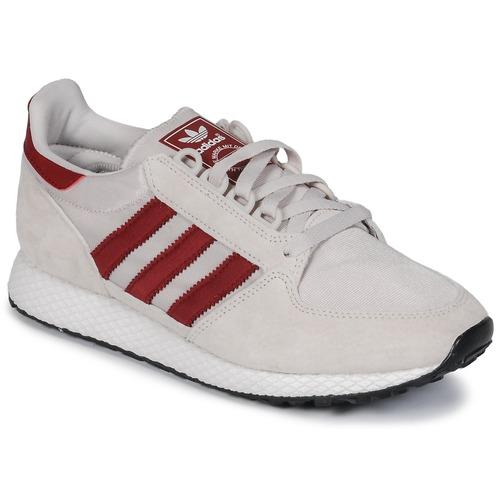 Sapatos Sapatilhas adidas Originals OREGON Bege / Vermelho