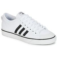Sapatos Sapatilhas adidas Originals NIZZA Branco / Preto