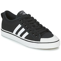 Sapatos Sapatilhas adidas Originals NIZZA Preto / Branco