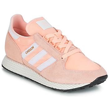 Sapatos Mulher Sapatilhas adidas Originals OREGON W Rosa