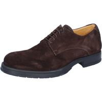 Sapatos Homem Sapatos & Richelieu Salvo Barone Clássico BZ164 Castanho