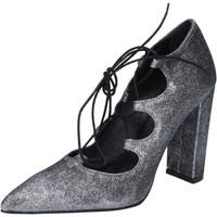 Sapatos Mulher Escarpim Islo BZ216 Prata