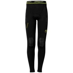 Textil Homem Collants Uhlsport Bionikframe Longtight Black-Fluor yellow