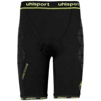 Textil Homem Shorts / Bermudas Uhlsport Bionikframe Black-Fluor yellow