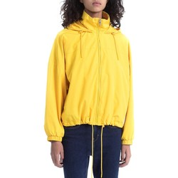 Textil Mulher Jaquetas Calvin Klein Jeans OLYMPIA HD WINDBREAKER amarelo