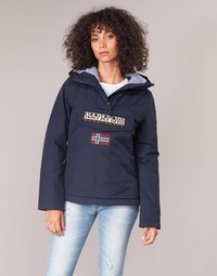 Textil Mulher Casacos Napapijri RAINFOREST WINTER Marinho