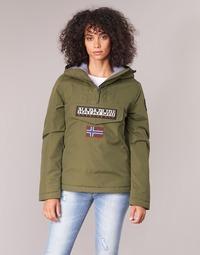 Textil Mulher Casacos Napapijri RAINFOREST WINTER Verde