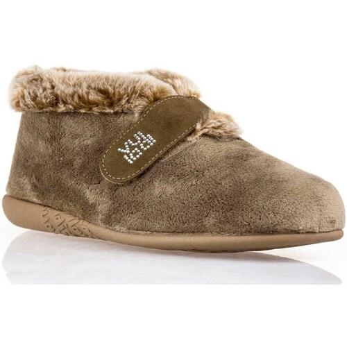 Sapatos Mulher Chinelos Vulladi -3216-140 Bege