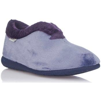 Sapatos Mulher Chinelos Muro -9604 Azul