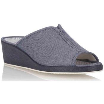 Sapatos Mulher Chinelos Garzon -716.119 Azul