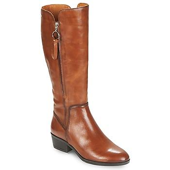 Sapatos Mulher Botas Pikolinos DAROCA W1U Camel