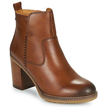 Sapatos Mulher Botins Pikolinos POMPEYA W9T Camel