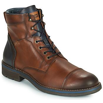 Sapatos Homem Botas baixas Pikolinos YORK M2M Castanho / Marinho