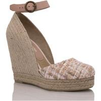 Sapatos Mulher Alpargatas Mtbali Sandálias Tacão Compensado - Altea Principesca rosa