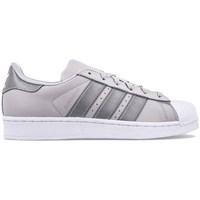 Sapatos Criança Sapatilhas adidas Originals Superstar J Cinzento,Prateado