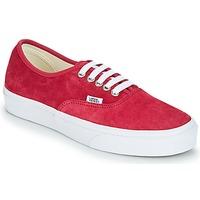 Sapatos Mulher Sapatilhas Vans AUTHENTIC Vermelho