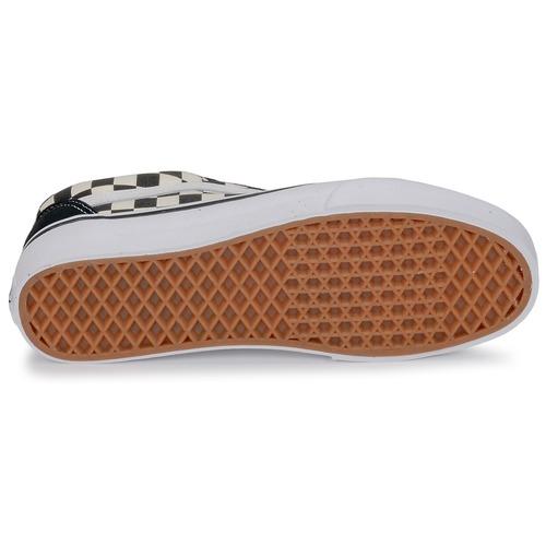 Vans OLD SKOOL Branco / Preto - Entrega gratuita- Sapatos Sapatilhas
