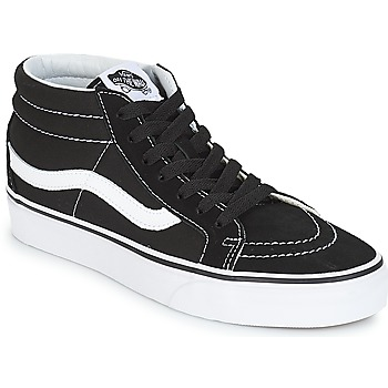 Sapatos Sapatilhas de cano-alto Vans SK8-MID REISSUE Preto / Branco