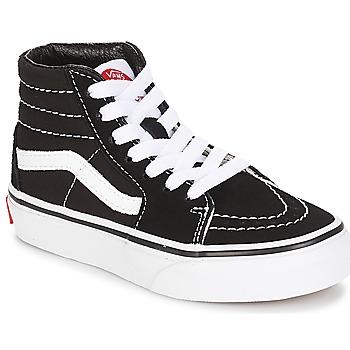 Sapatos Criança Sapatilhas de cano-alto Vans UY SK8-HI Preto / Branco