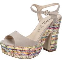 Sapatos Mulher Sandálias Geneve Shoes BZ890 Bege