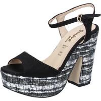 Sapatos Mulher Sandálias Geneve Shoes BZ893 Preto