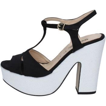 Sapatos Mulher Sandálias Geneve Shoes BZ897 Preto