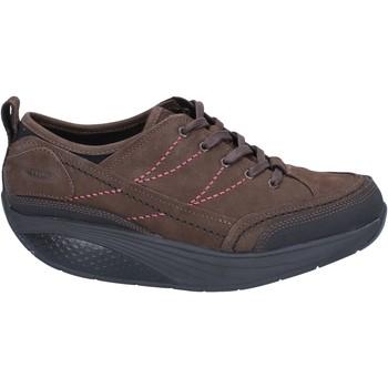 Sapatos Mulher Sapatilhas Mbt Sneakers BZ912 Castanho