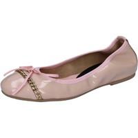 Sapatos Mulher Sabrinas Crown ballerine rosa cipria vernice BZ941 Rosa