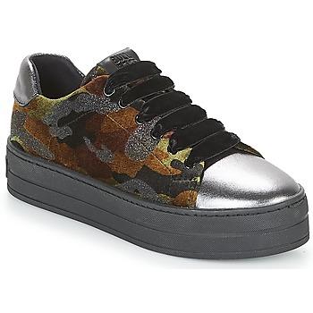 Sapatos Mulher Sapatilhas Bullboxer TECHA Castanho