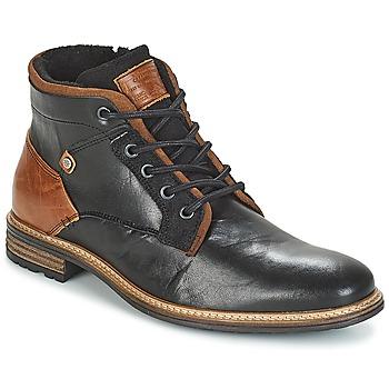 Sapatos Homem Botas baixas Bullboxer NIRINA Preto