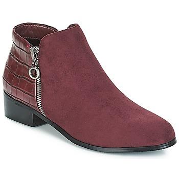 Sapatos Mulher Botas baixas Moony Mood JADE Maroon