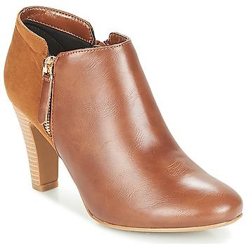 Sapatos Mulher Botas baixas Moony Mood FADI Camel
